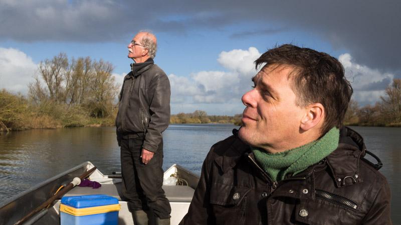 Varen door de Biesbosch - Wim en Niels
