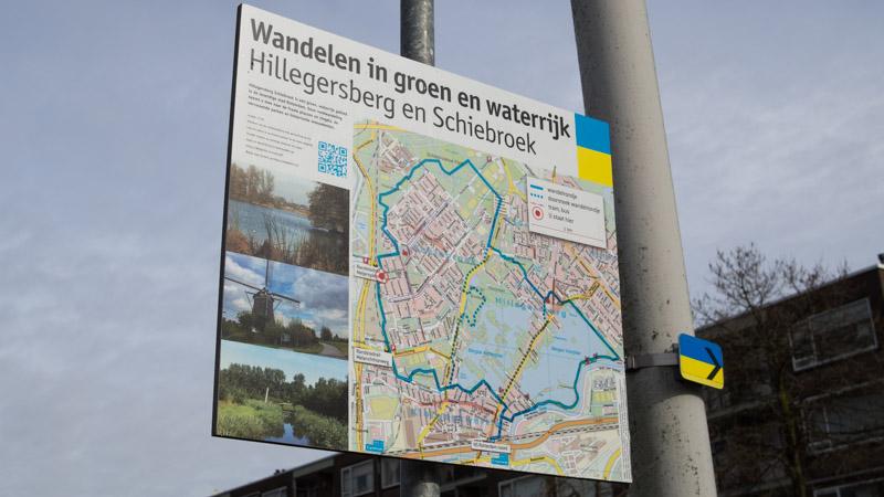 Wandelen Hillegersberg en Schiebroek